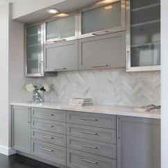 Gray Kitchen Cabinets Vintage Islands With Cooler Selections Rugh Design