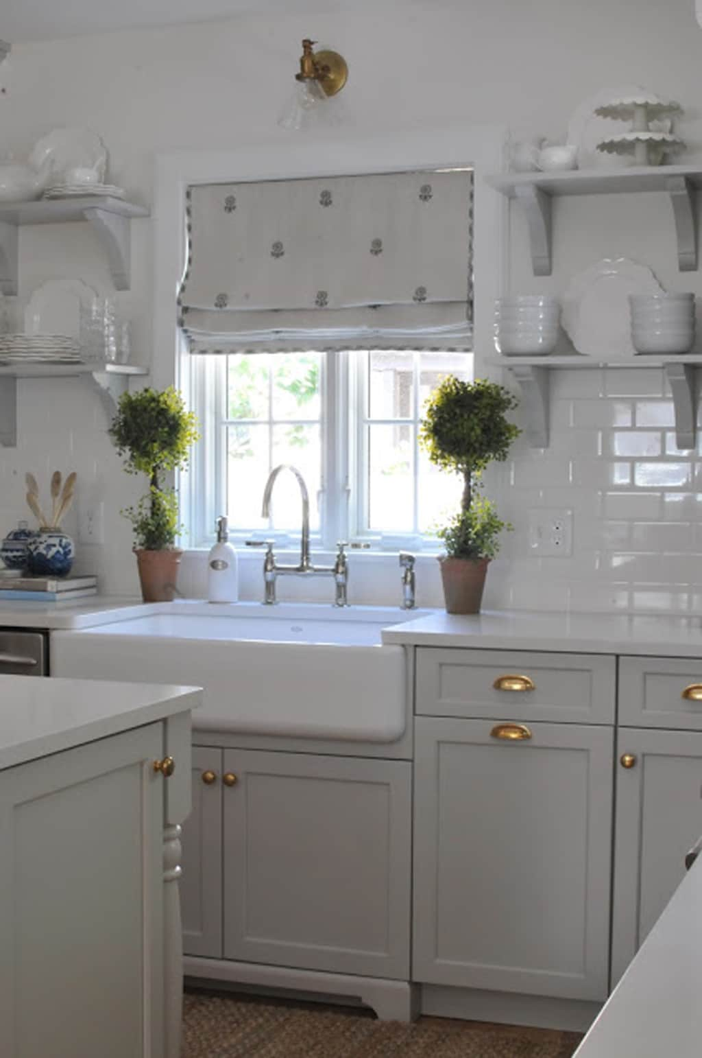 gray kitchen cabinets white drop in sink 30 cabinet colors that will rejuvenate your rugh design repose on by nine sixteen home