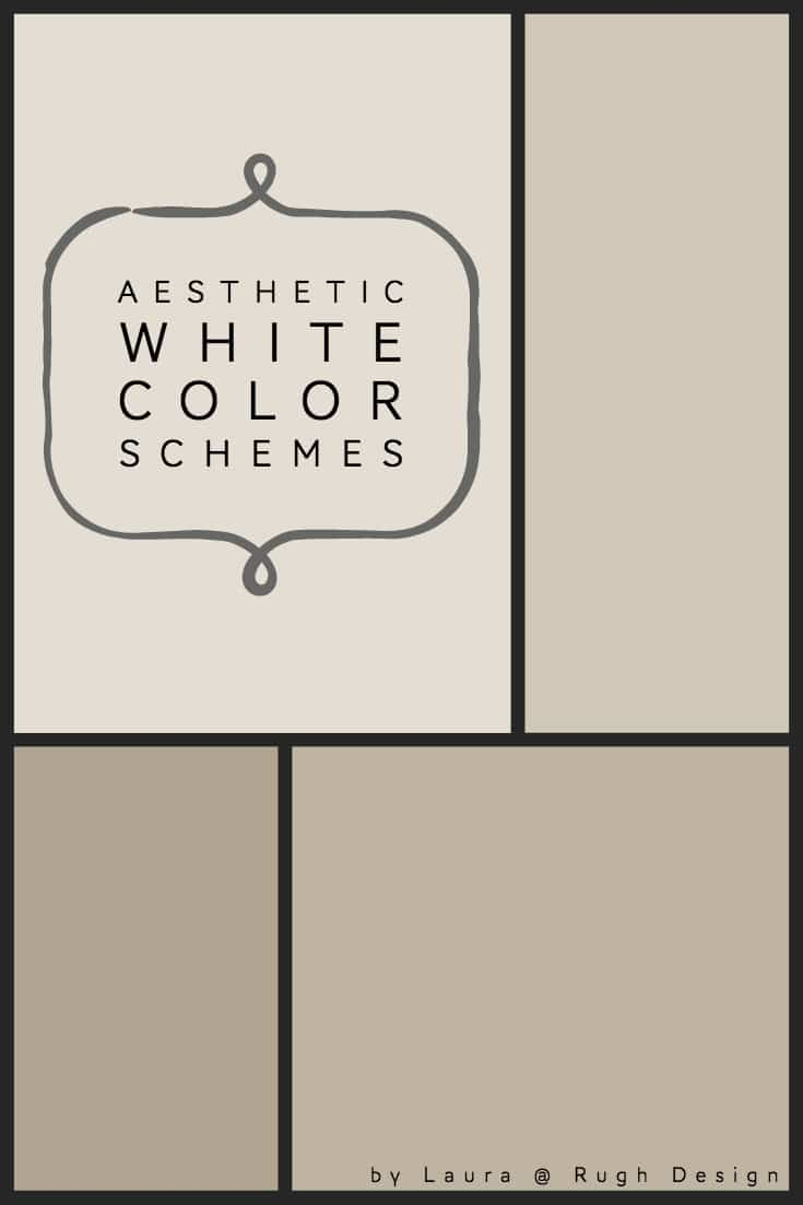 Color Scheme For Aesthetic White Sw 7035