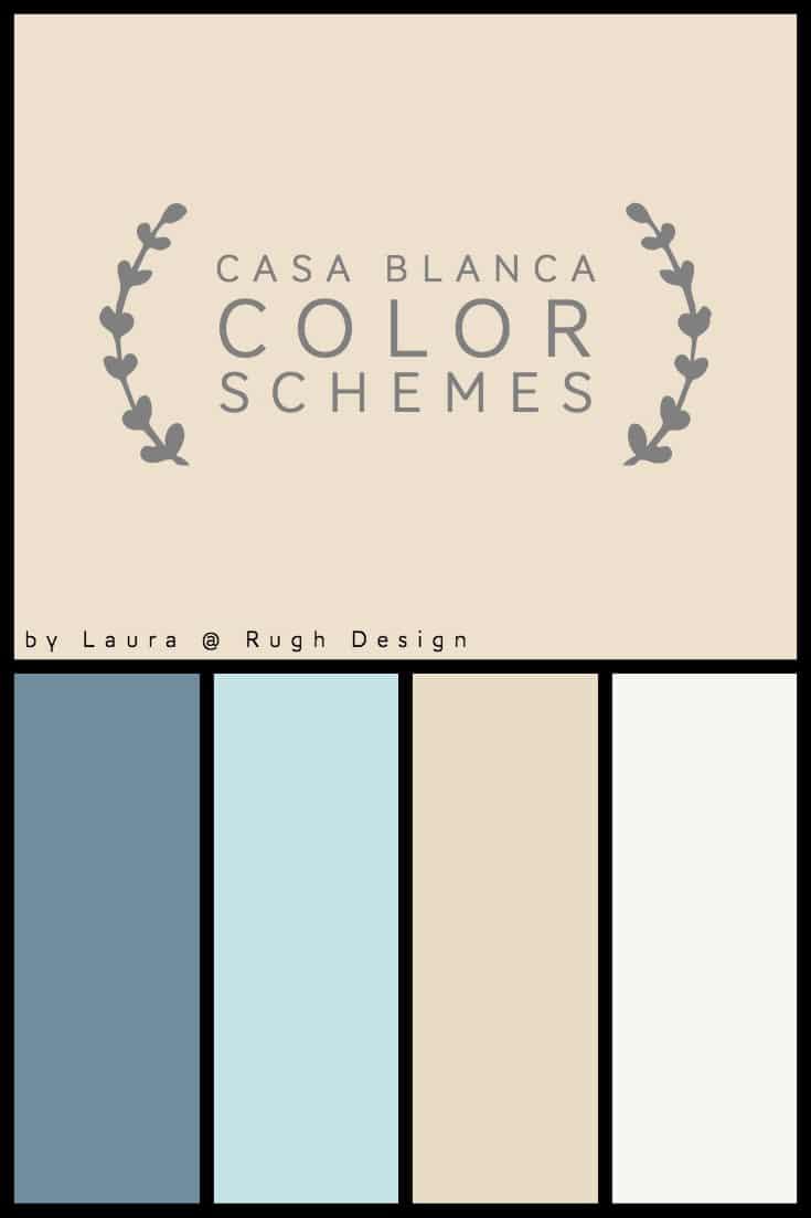 Sw Casa Blanca : blanca, Color, Scheme, Blanca
