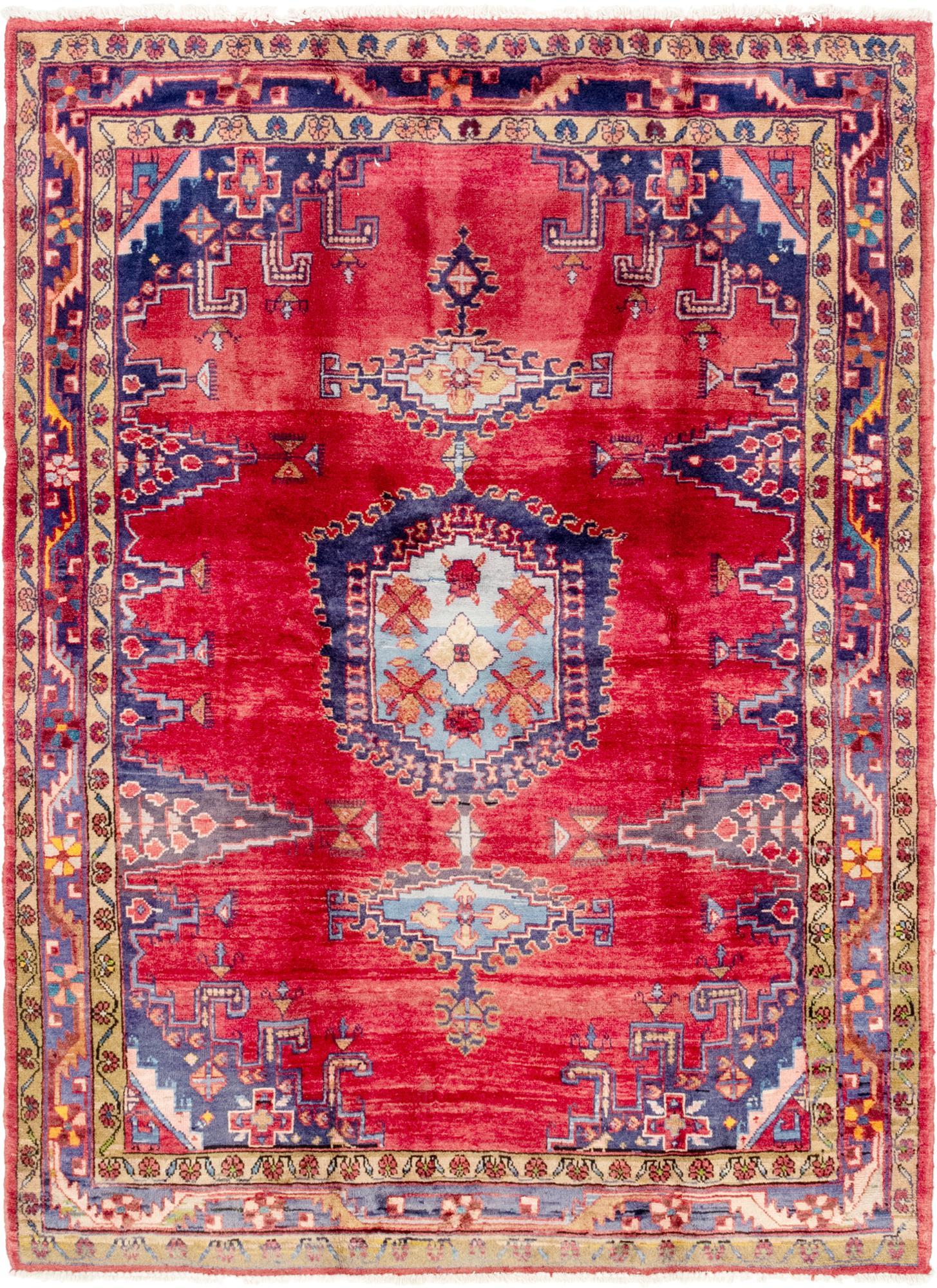 Red 5 3 X 7 3 Viss Persian Rug Esalerugs