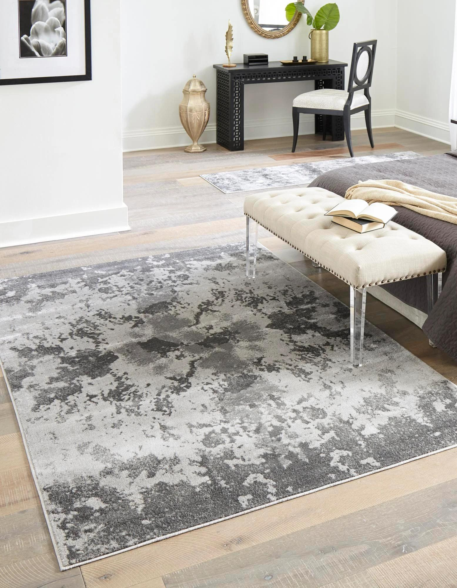 Light Gray 9 X 12 Metropolis Rug Esalerugs