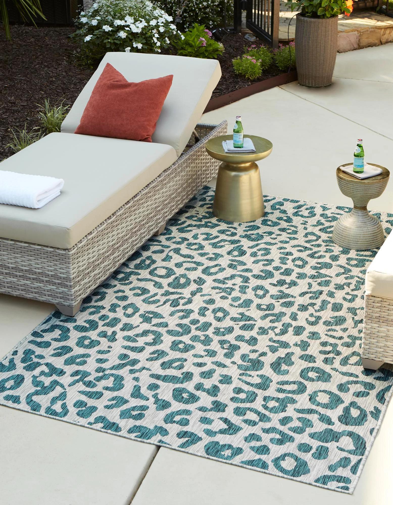 6 x 9 outdoor safari rug