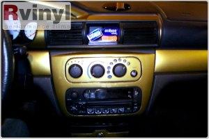 Dash Kit Decal Auto Interior Trim Chrysler Sebring  Stratus Sedan 20012006 | eBay