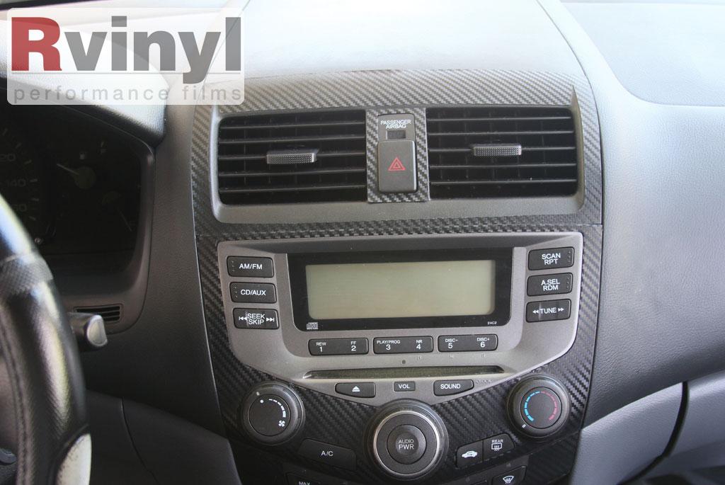 2005 honda accord parts diagram 98 ford f150 radio wiring dash kit decal auto interior trim for 2003-2007 | ebay