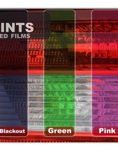 Pro precut smoke taillight tint film kit toyota prius sd for sale dvautoparts also rh