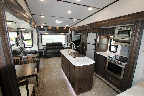These are two bedroom fifth wheel floor plans or rv trailer camper with two bedrooms. New Or Used Fifth Wheel Campers For Sale Camping World Rv Sales
