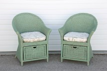 Green Wicker Outdoor Furniture - Ideas