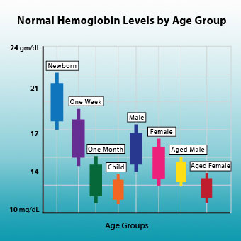 Hemoglobin Ranges: Normal Symptoms of High and Low Levels