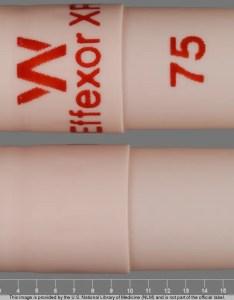 Capsule orange imprinted with  effexor xr also venlafaxine extended release antidepressant drugs rh rxlist