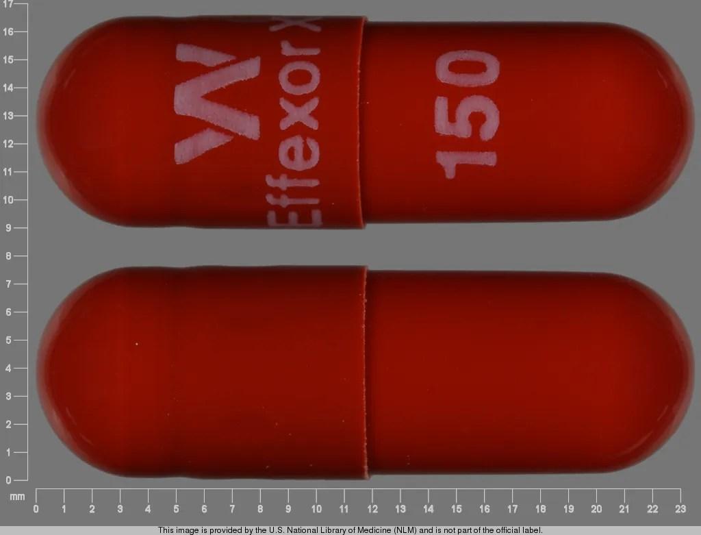 Side Effects of Effexor XR (Venlafaxine Hydrochloride ...