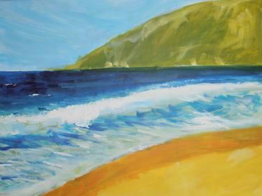 simple expressive seascape