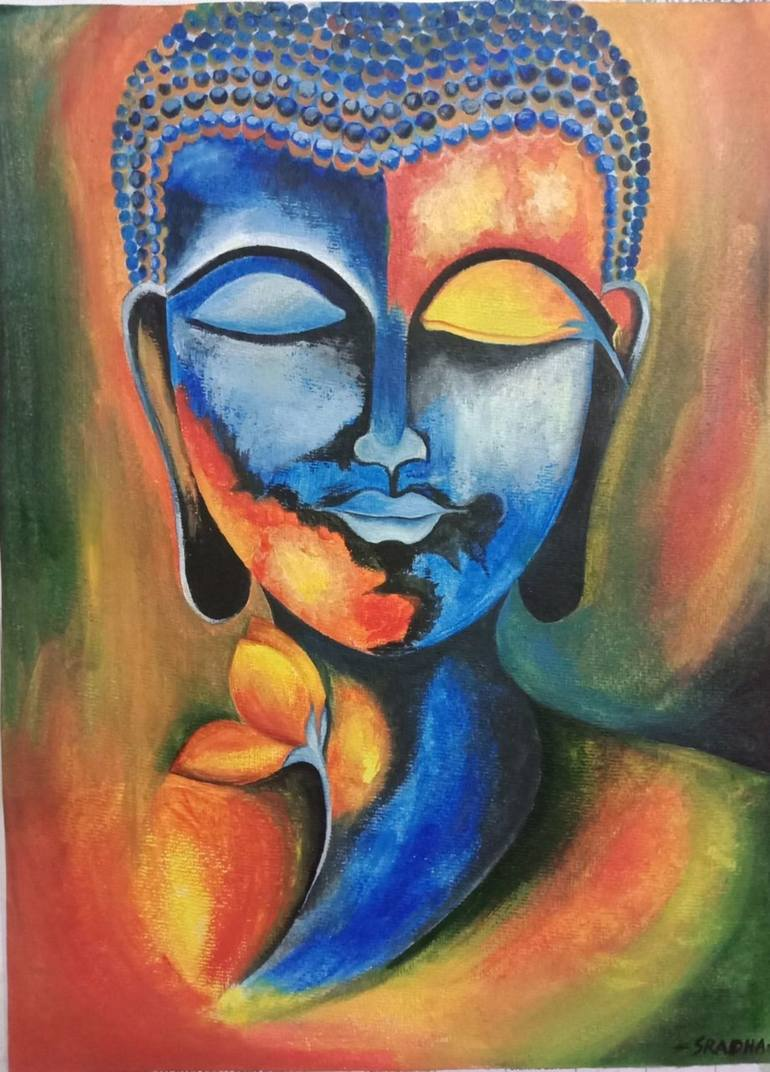 Lord Buddha Painting By Sradha S Saatchi Art