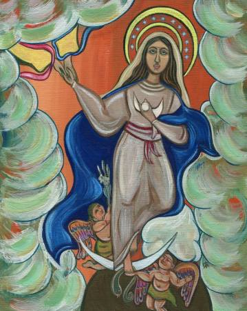 Image result for immaculate conception painting