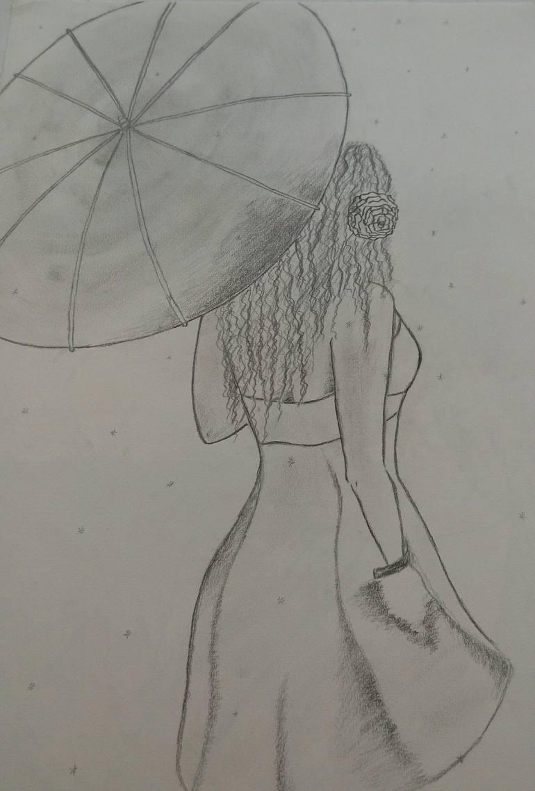 Rain Drawing : drawing, Walking, Drawing, Saatchi