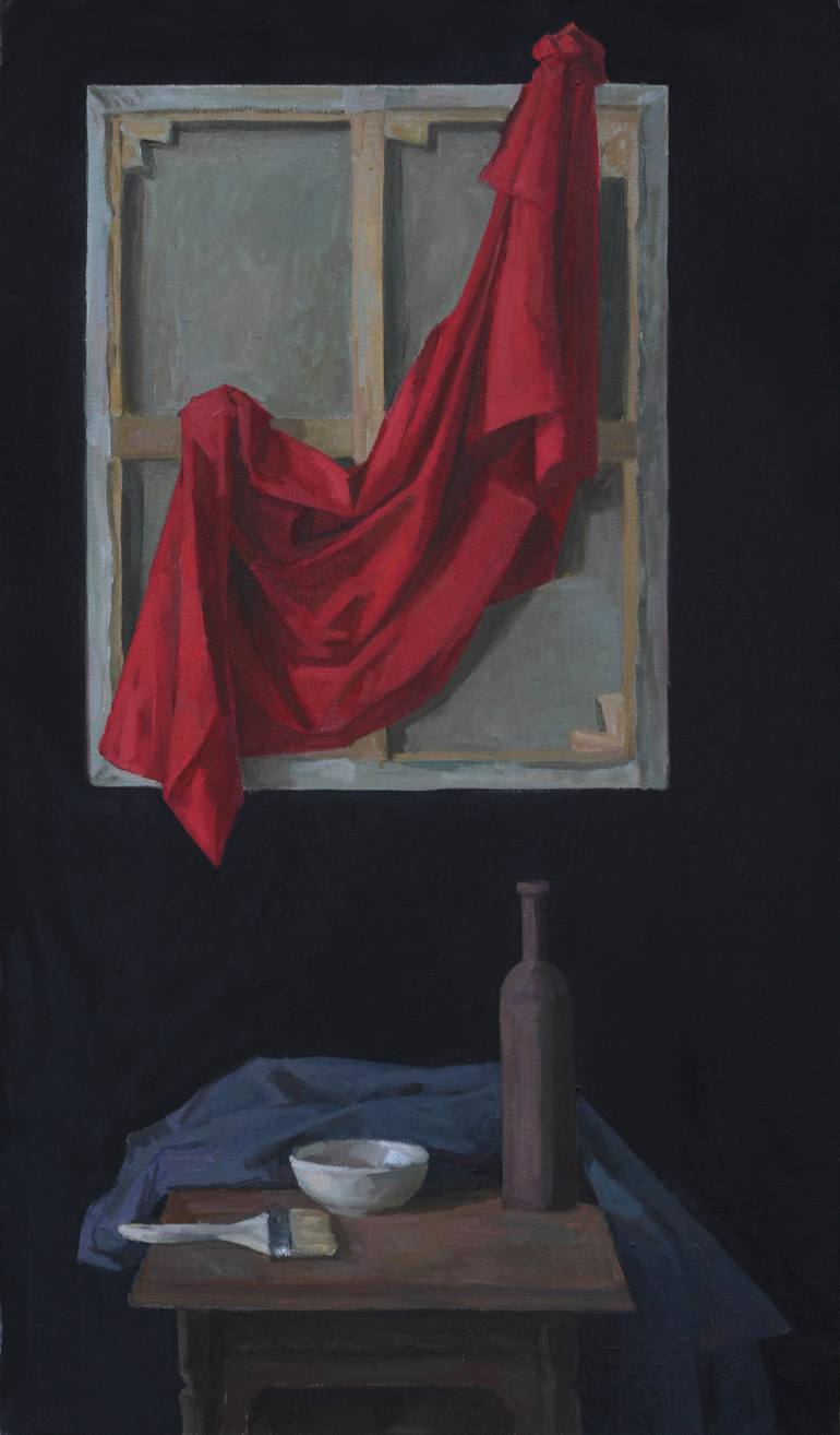 Drapery Painting : drapery, painting, Still, Drapery, Painting, Gorodetskaya, Saatchi