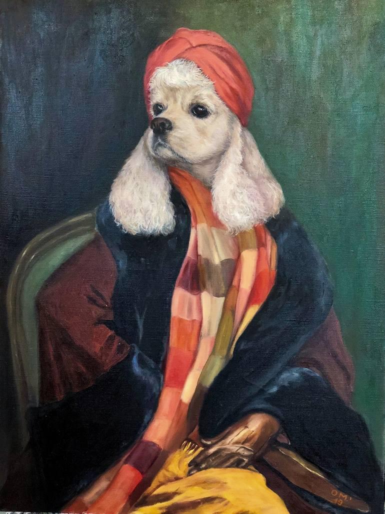 Blonde Painting : blonde, painting, Blonde, Painting, Marina, Okuneva, Saatchi
