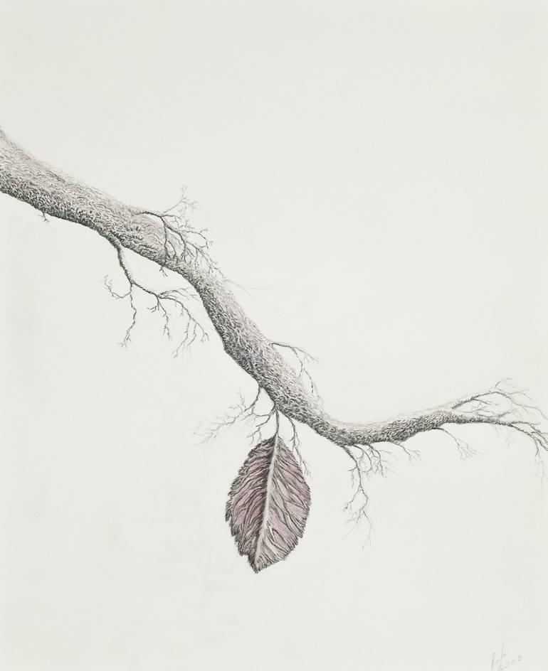 Tree Branch Art : branch, Branch, Drawing, Roxene, Rockwell, Saatchi