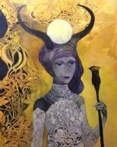 Isis Painting by Olga Zelinskaya | Saatchi Art