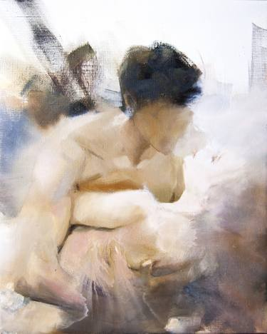 original oil painting of