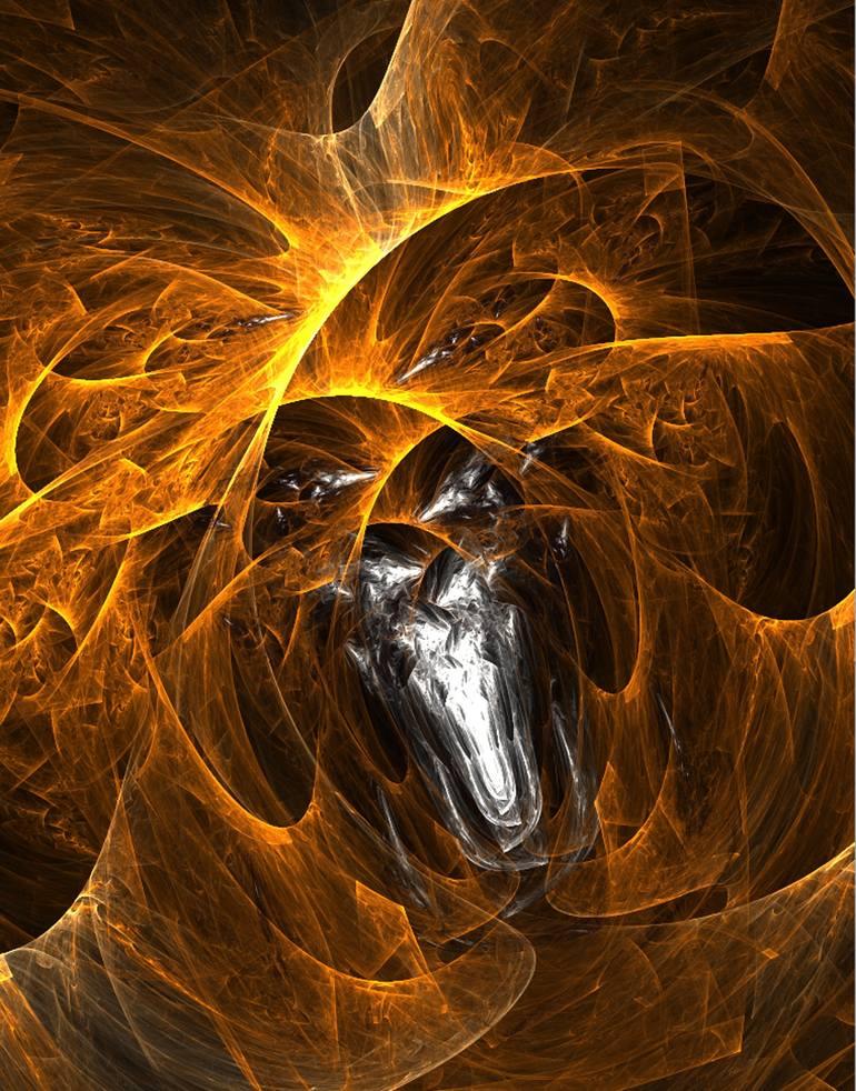 Ensnared New Media by Kaz Stevens | Saatchi Art