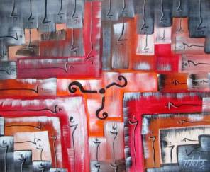 Question Mark Painting by Shanmukha Inkas | Saatchi Art