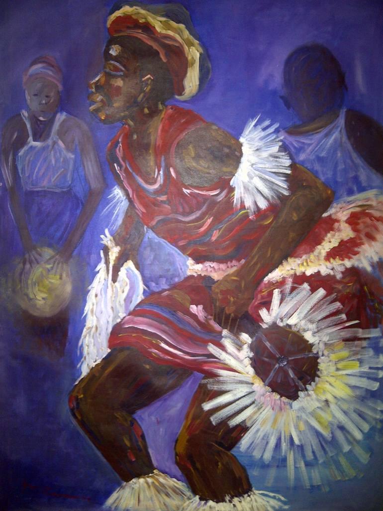 Atilogwu : atilogwu, Atilogwu, Dancer, Painting, ABIODUN, ENIYANDUNNI, Saatchi