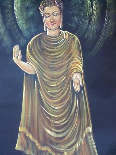 enlighted gautam buddha