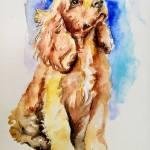 Dog Painting By Daniela Vasileva Saatchi Art