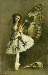 Victorian Gothic Fairy Painting by Michael Thomas Saatchi Art