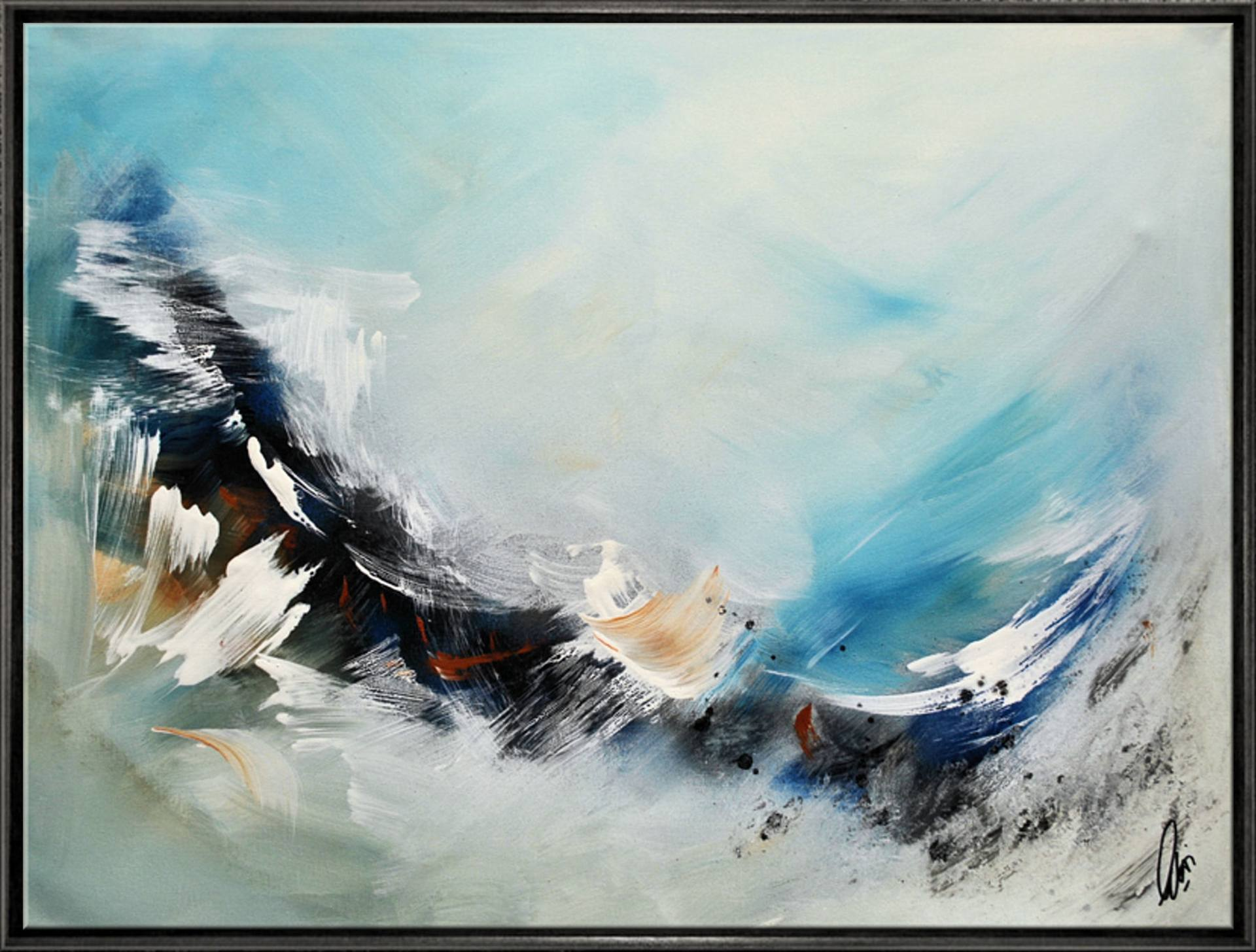 flying dreams abstract art