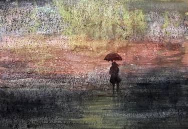 a umbrella girl in