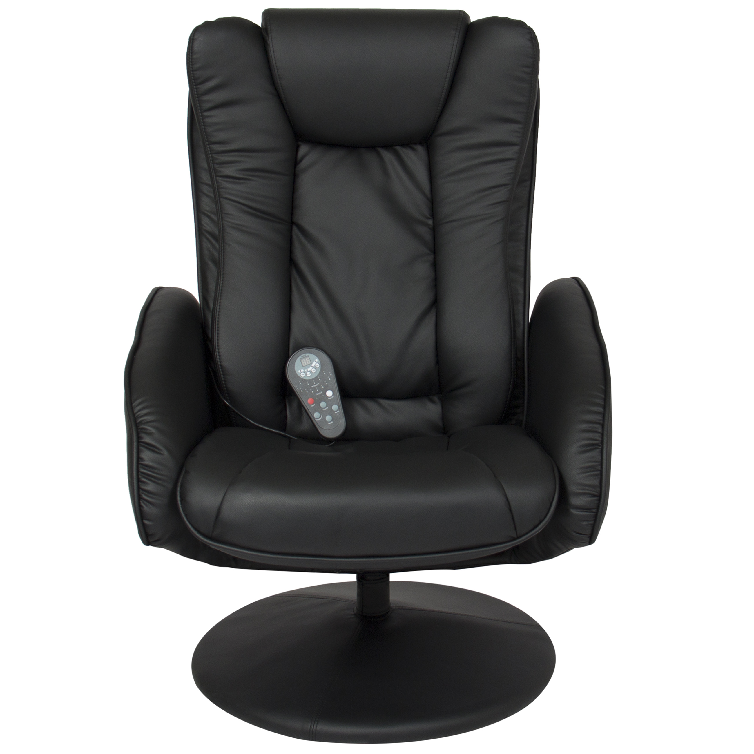Double Chair With Ottoman Bcp Leather Massage Recliner And Ottoman Set W Double