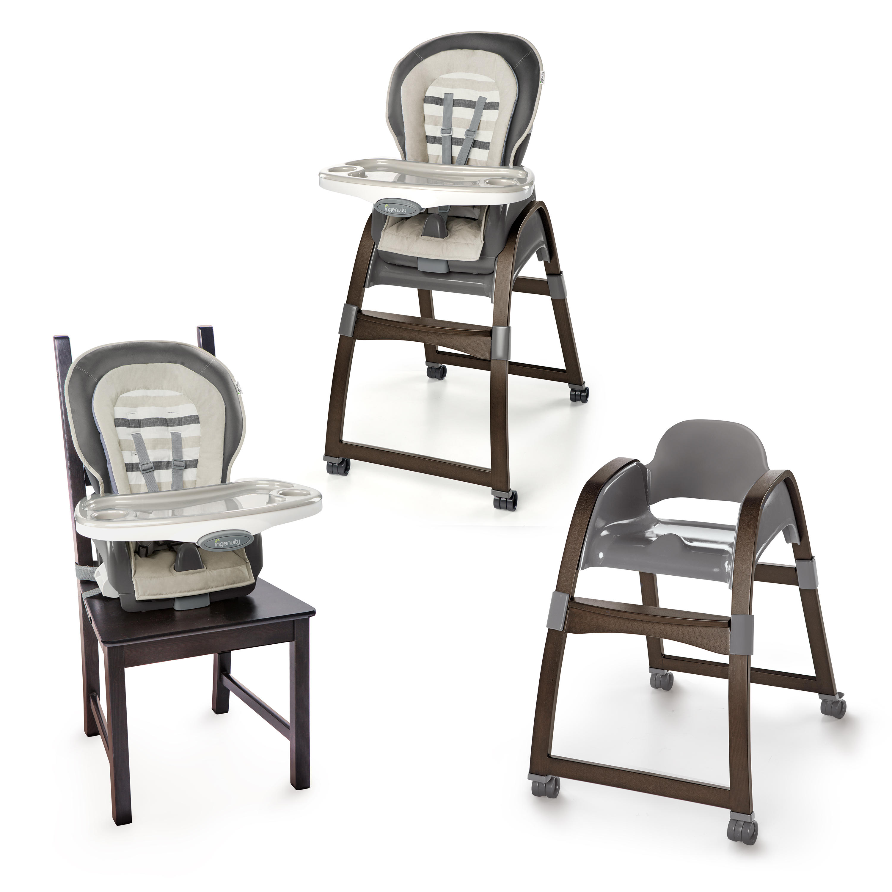 graco winnie the pooh high chair home depot plastic chairs trio 3 in 1 wood tristan