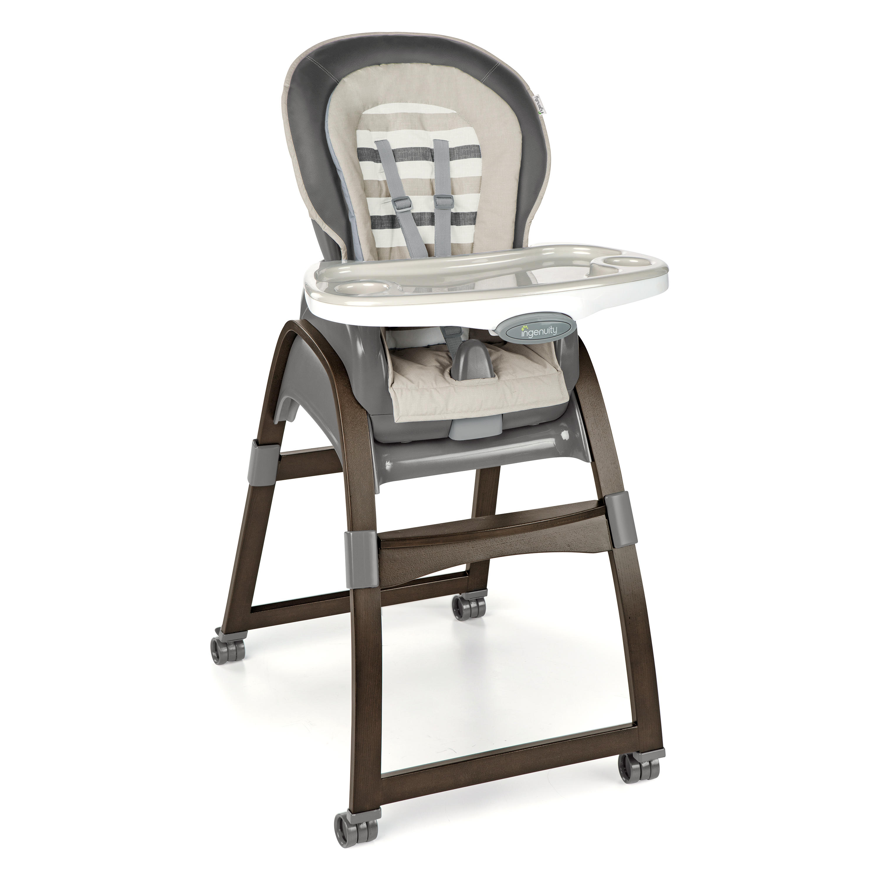 ingenuity high chair 3 in 1 cover theater seat covers trio wood tristan