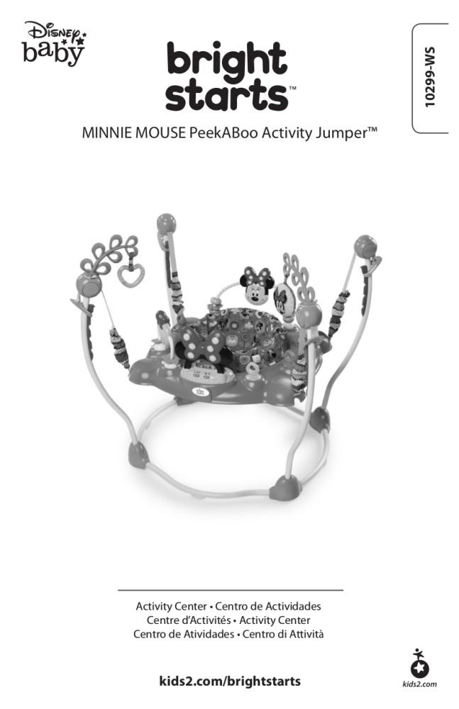 Bright Starts Disney Baby Minnie Mouse PeekABoo Activity