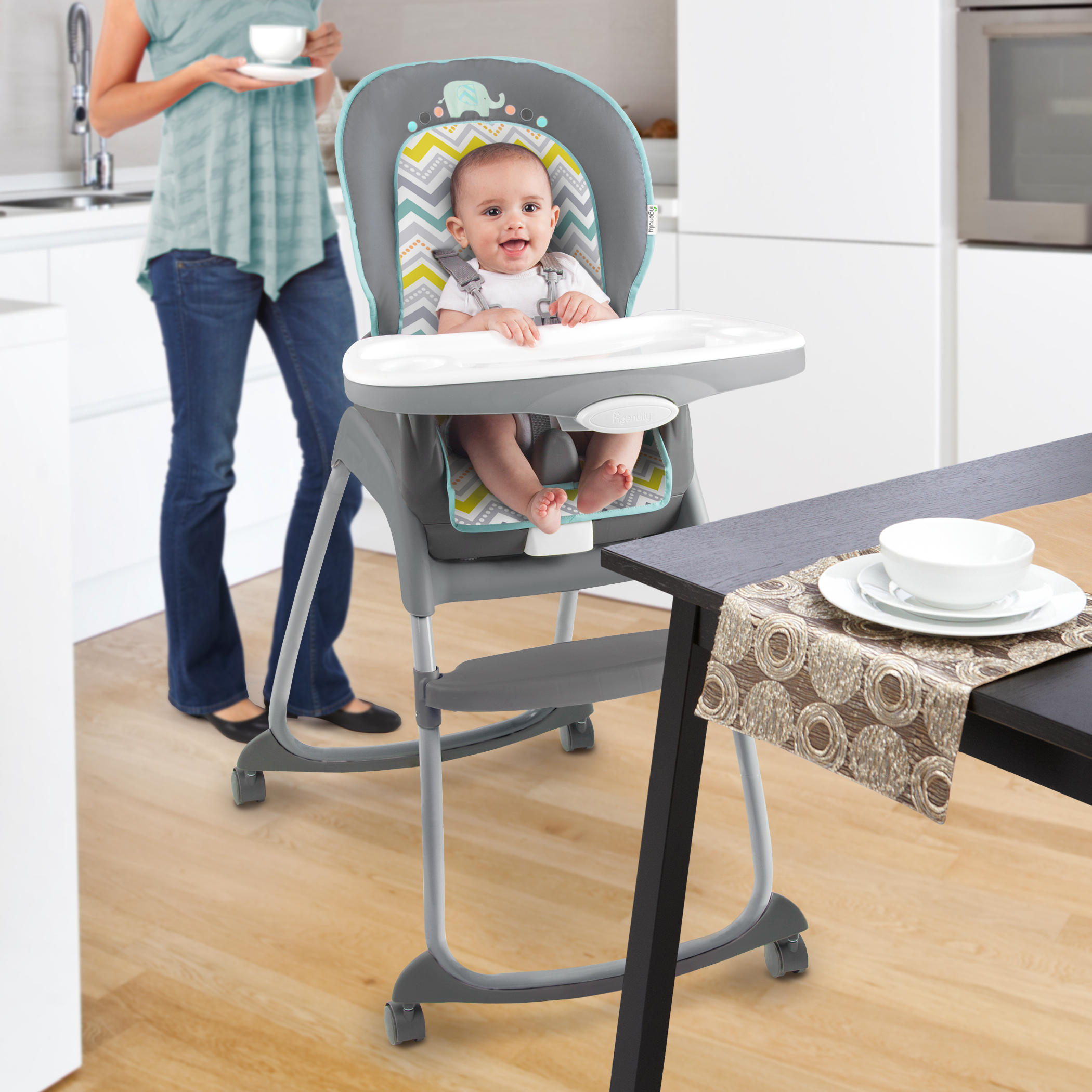 ingenuity high chair 3 in 1 cover ergonomic has trio avondale