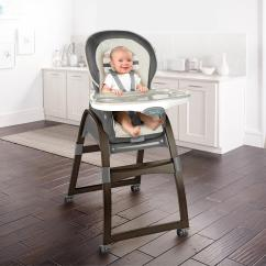 Ingenuity High Chair 3 In 1 Cover Office Wheel Replacement Trio Wood Tristan