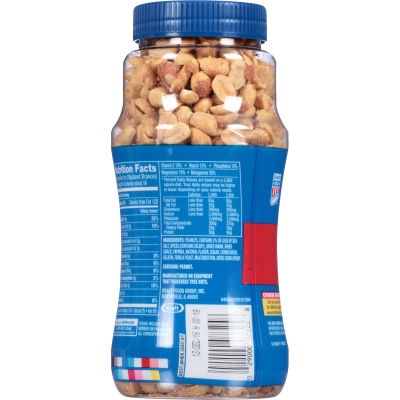 Planters Dry Roasted Peanuts 16 oz Jar My Food and Family