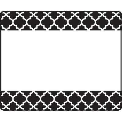 Moroccan Black Terrific Labels™ T-68042