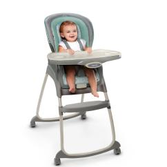Ingenuity High Chair 3 In 1 Cover Swivel Glides For Wood Floors Trio Cambridge