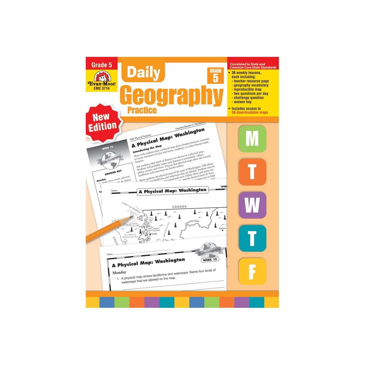 Daily Geography Practice Grade 5 Emc