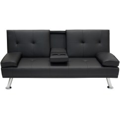 Sofa Armrest With Cup Holder Sale Free Shipping Entertainment Furniture Futon Bed Fold Up Down