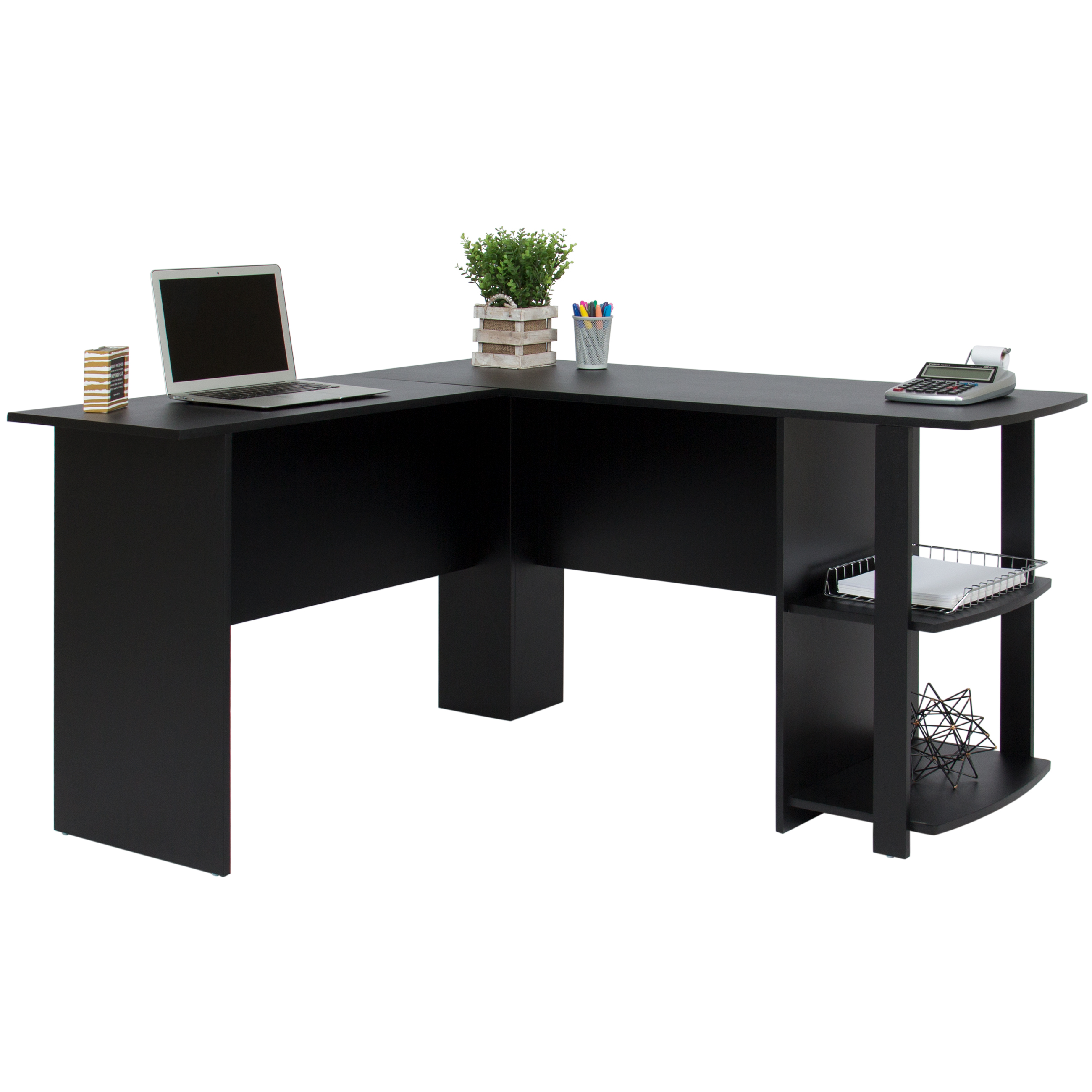 Best Choice Products LShaped Corner Computer Office Desk