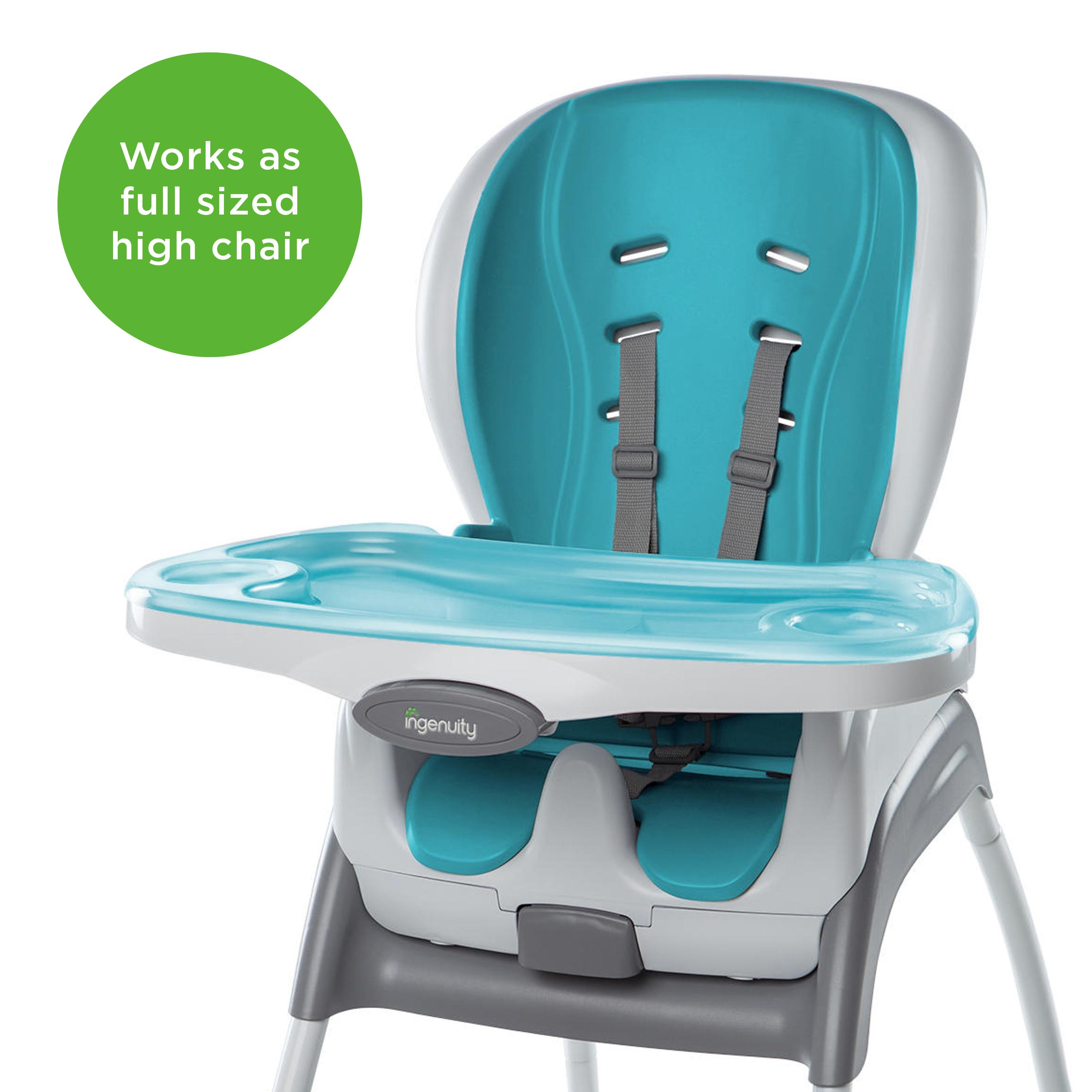 ingenuity high chair 3 in 1 cover used electric wheelchair smartclean trio aqua