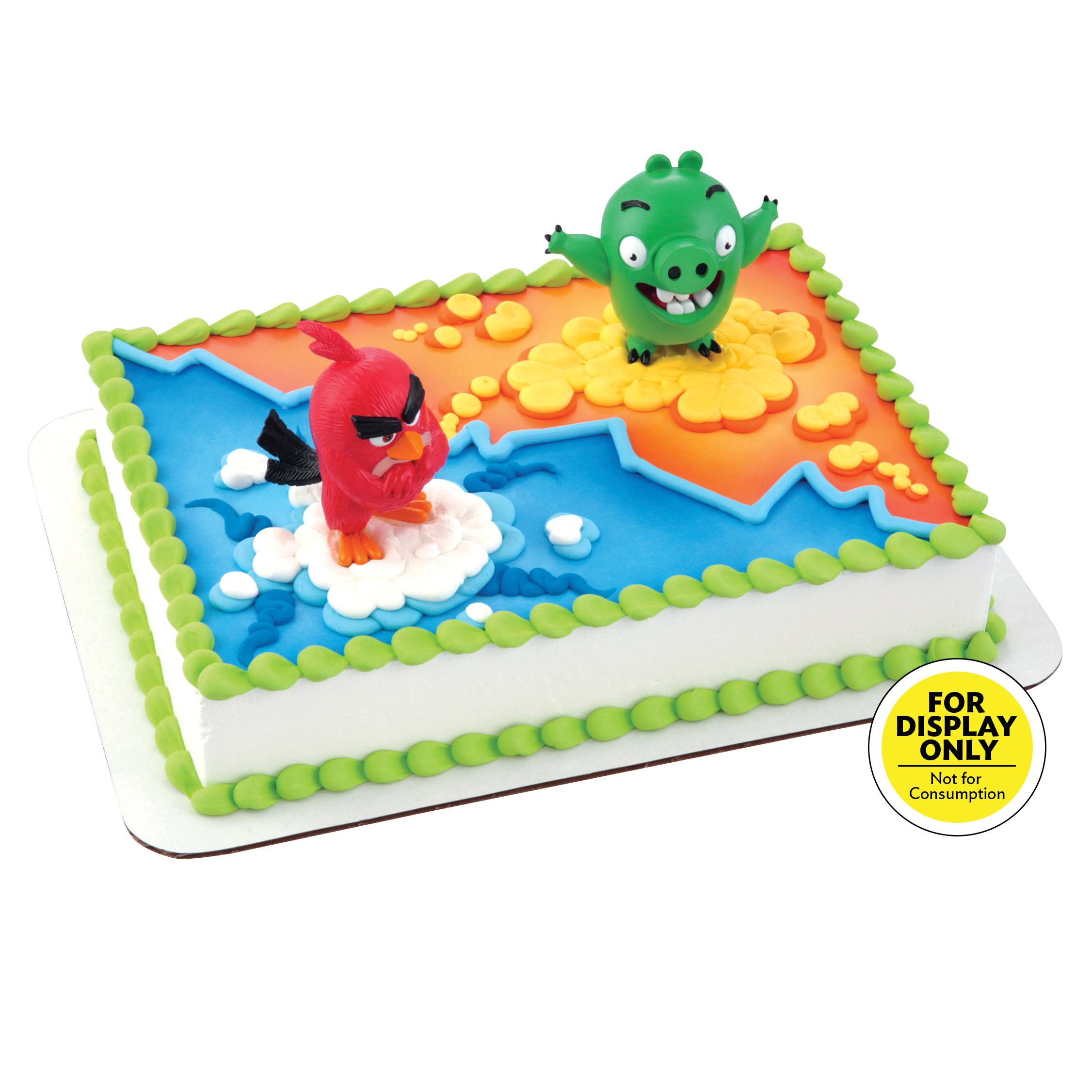 Angry Birds Red Bird Amp Bad Piggy Decodisplay 174 Cake Decopac