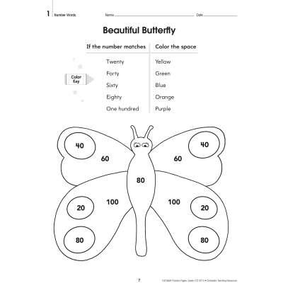 100 Math Practice Pages, Grade 2 SC-579938