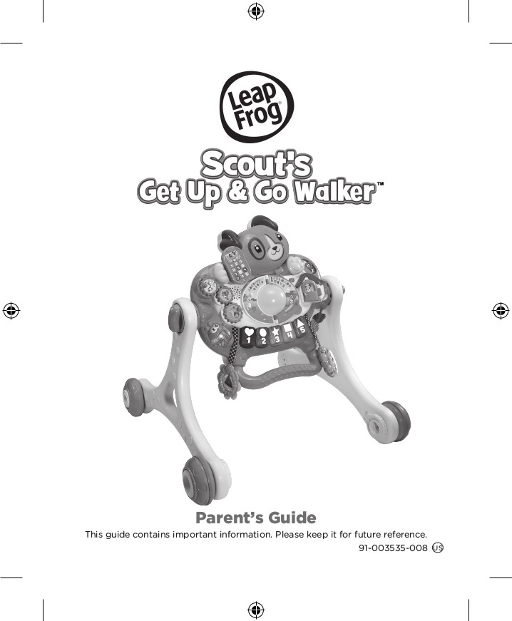 Scout's 3-in-1 Get Up and Go Walker, Baby Gym, Floor Play