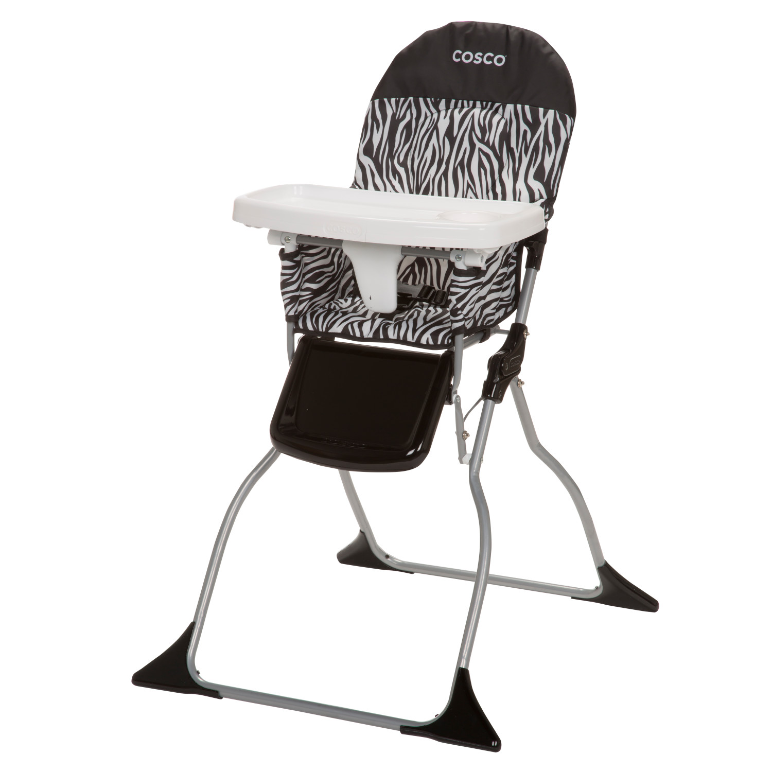 how to fold up a cosco high chair fishing pontoon simple ebay