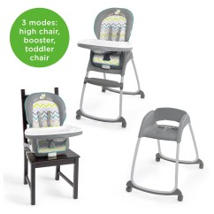 Ingenuity High Chair 3 In 1 Cover Black Lycra Covers Trio Ridgedale